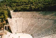 Twenty five-hundred years ago, western theatre was born in Athens, Greece. Between 600 and 200 BC, the ancient Athenians created a theatre culture whose form, technique and terminology have lasted two thousand years and produced unforgettable plays t